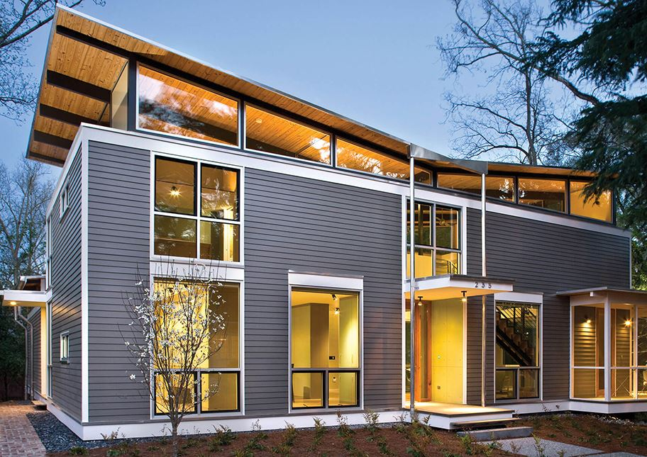 Modern Custom Home Siding Trends | Nichiha USA - Fiber ... on Modern House Siding  id=87957