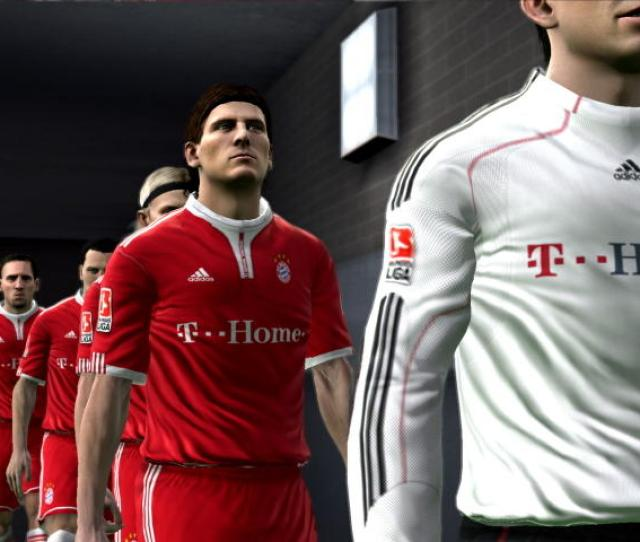 The Long Walk To The Pitch As Depicted By The Games Amazing Graphics System