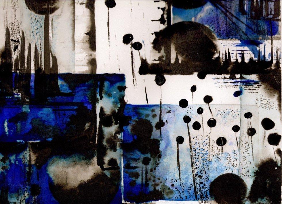 Blue View  © Nichola Scrutton