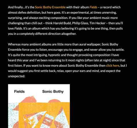 Sonic Bothy album review Scots Whae Hae