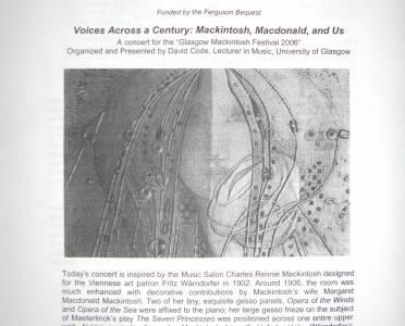 Mackintosh Concert