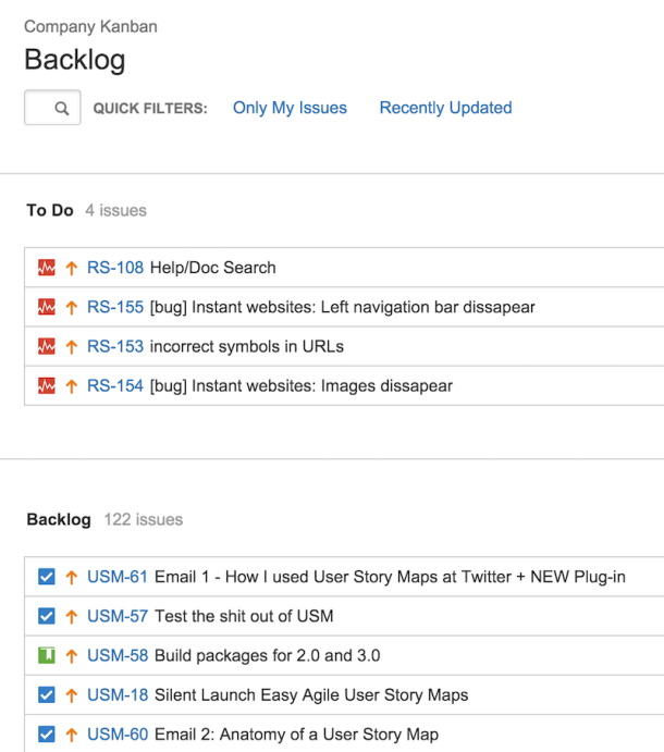 Backlog for Kanban teams in JIRA