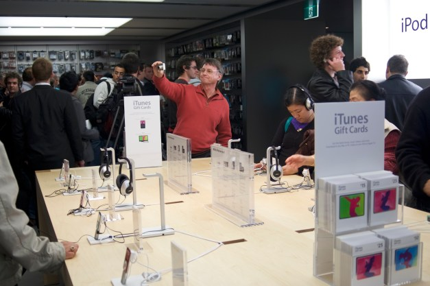 iPods on Display