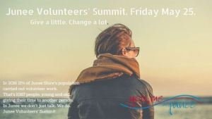 Junee Volunteers' Summit Give a little. Change a lot