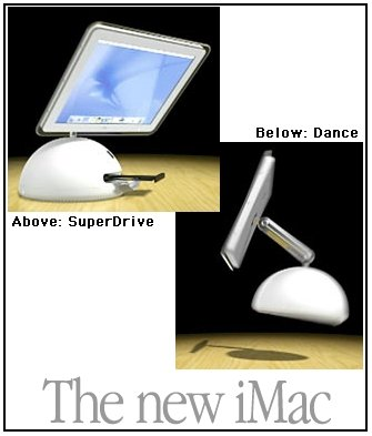 New iMac ads by Pixar