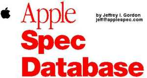 Apple Spec Database Logo