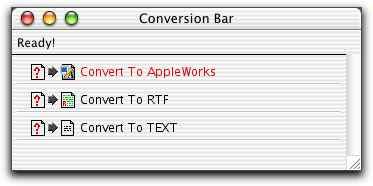Conversion Bar