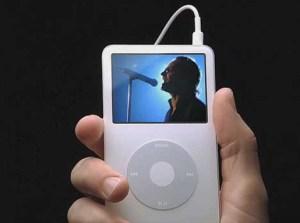 iPod Video U2