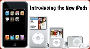 Introducing the New iPods