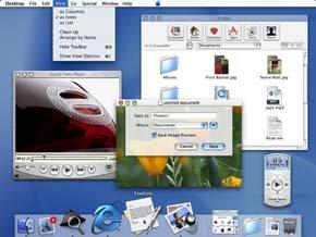 Mac OS X Screenshot
