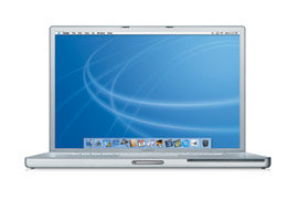 17-inch PowerBook Front View