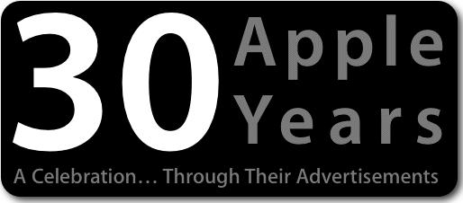 Thirty Apple Years Logo