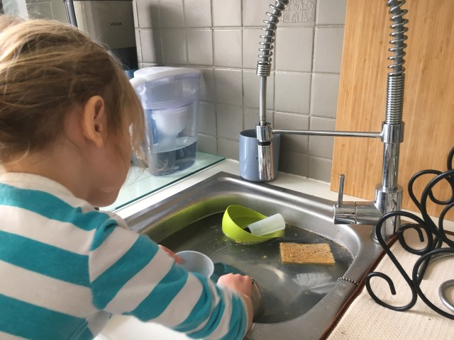 The Science of Dishwashing — Montessori Learning Chores
