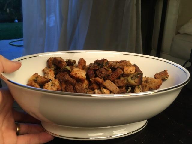 Grandma's Stuffing – Pumpernickel, Rye, and Wheat