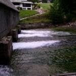 Abfluss vom Königssee