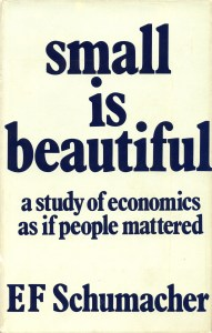 small is beautiful 1st ed cover m