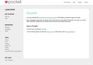 getpocket import