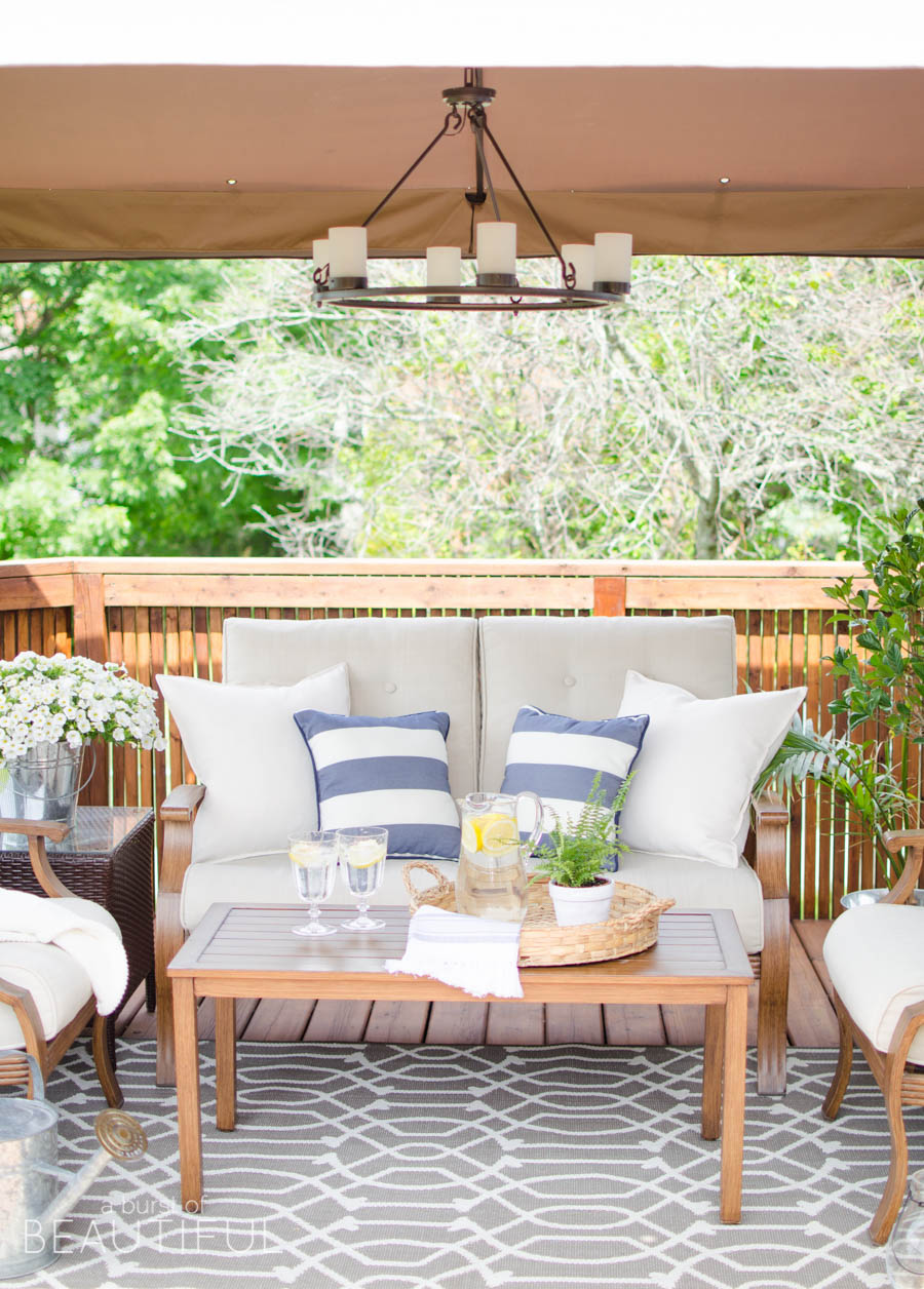 Tips for Creating a Cozy Outdoor Living Space + Video ... on Outdoor Living Patio id=35467