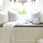 How To Build A Window Bench With Storage Nick Alicia