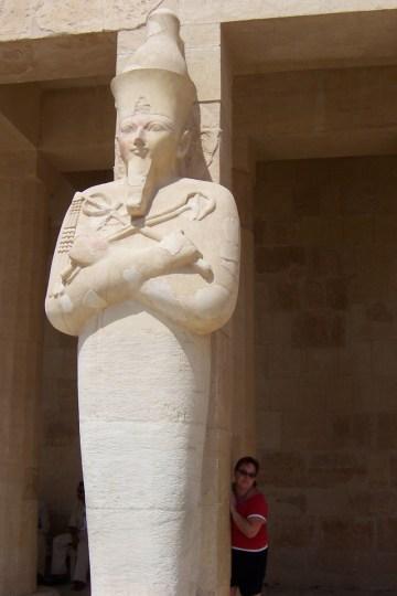 Sam at Hatshepsut