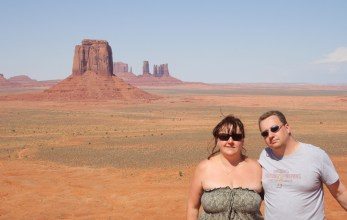 Sam and Me  at Monument Valley