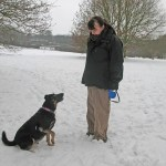 Sam & Lucky at Burntstump Country Park