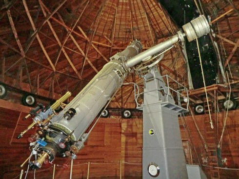 The 24-inch (0.61 m) Alvan Clark Telescope.