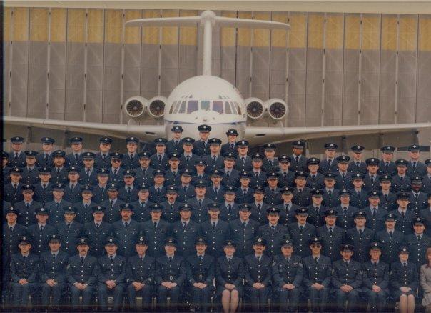 Aircraft Engineering Squadron 1992 RAF Brize Norton. VC10 aircraft