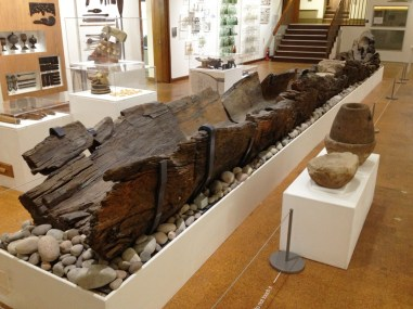 Bronze age Hanson log boat