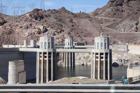 Hoover Dam Penstock Towers