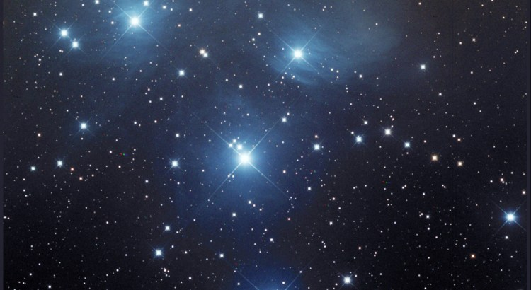 Messier 45, The Pleiades, The Seven Sisters
