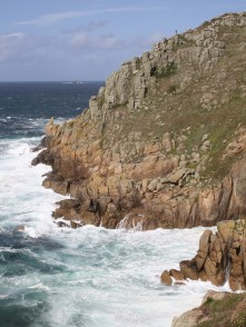 Maen Cliff Castle away from Land's End.