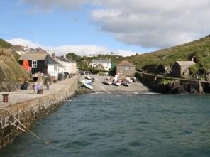 Mullion Harbour.