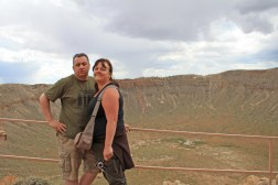 Me and Sam at Meteor Crater