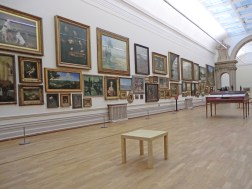 Nottingham Castle Long Gallery displaying British and European art from the 11th century to present day.