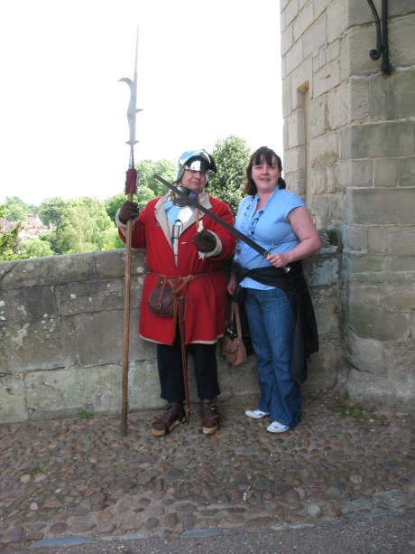Sam with a pikeman