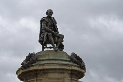 Statue of Shakespeare designed by Lord Gower