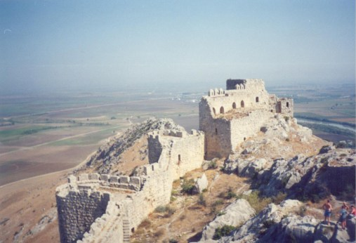 Yılankale - Snake Castle near Adana, Turkey. An Armenian stronghold and Crusader castle of the 12th century. One hell of a climb up there.