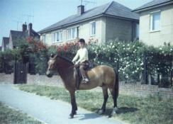 Mum on Trigger aged 10 in Didcot.