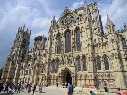 York Minster. Holy site with very unholy prices to get in. Didn't bother. At least Dick Turpin wore a mask when he tried to rob people. Go visit the Jorvik place instead.