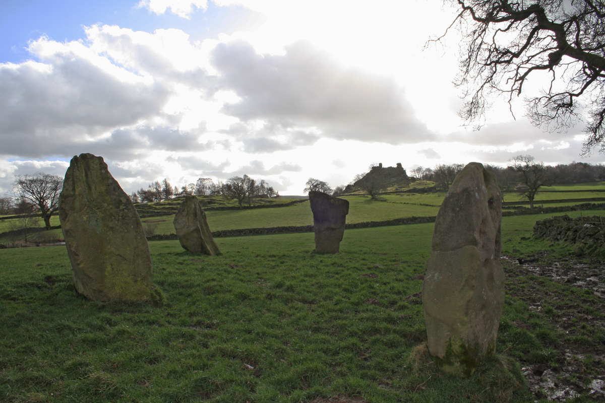 Robin Hood's Stride and Nine Stones Close
