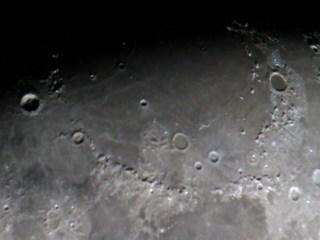 Mare Imbrium Basin. Single DSLR shot.