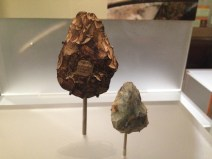 Neanderthal handaxes at Creswell Crags 60,000 - 40,000 years old.