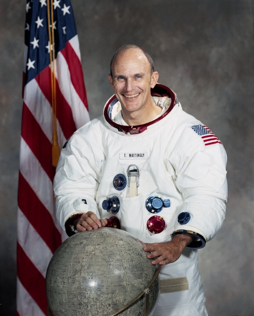 Rear Admiral Ken Mattingly, Apollo 16, STS-4, STS-51-C