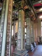 Pumping station interior decorations.
