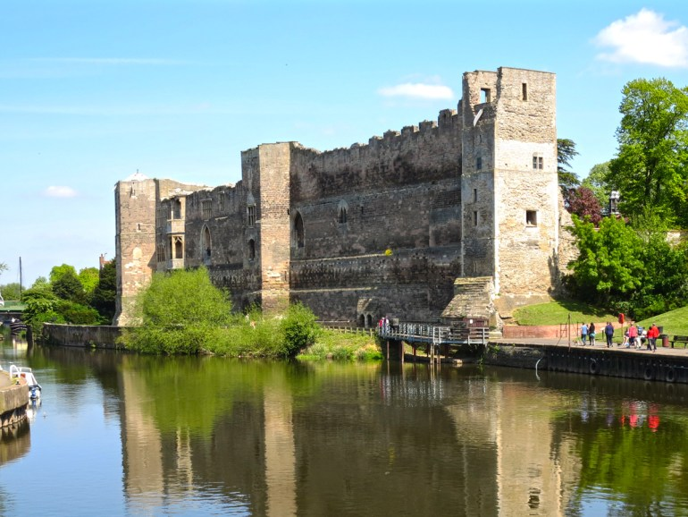 Newark Castle on the River Trent in Nottinghamshire