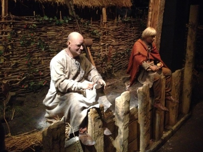 Builder on the Jorvik ride