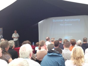 Pete Lawrence and his lecture on Summer Astronomy at The International Astronomy Show 2014