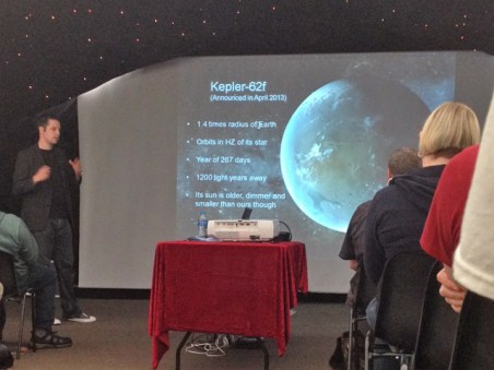 Will Gater and his talk on Exoplanets at The International Astronomy Show 2014