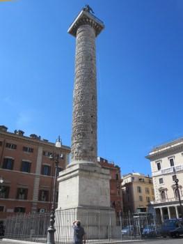 Column of Marcus Aurelius.